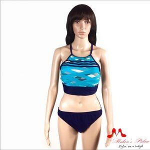 Adida Strappy Back Bikini Top & Hipster Bottom
